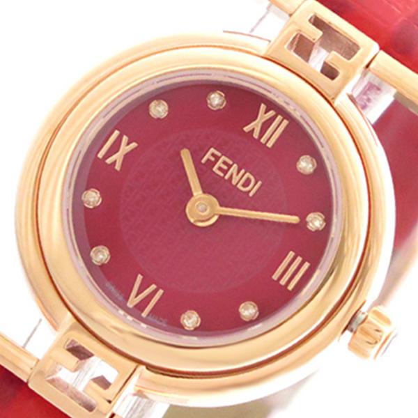 フェンディ FENDI 腕時計 レディース F275277BD モーダ MODA クォーツ レッド【送料無料】