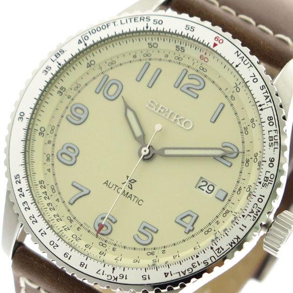 セイコー SEIKO 腕時計 時計 メンズ SRPB59K1 プロスペックス PROSPEX 自動巻き アイボリー ブラウン