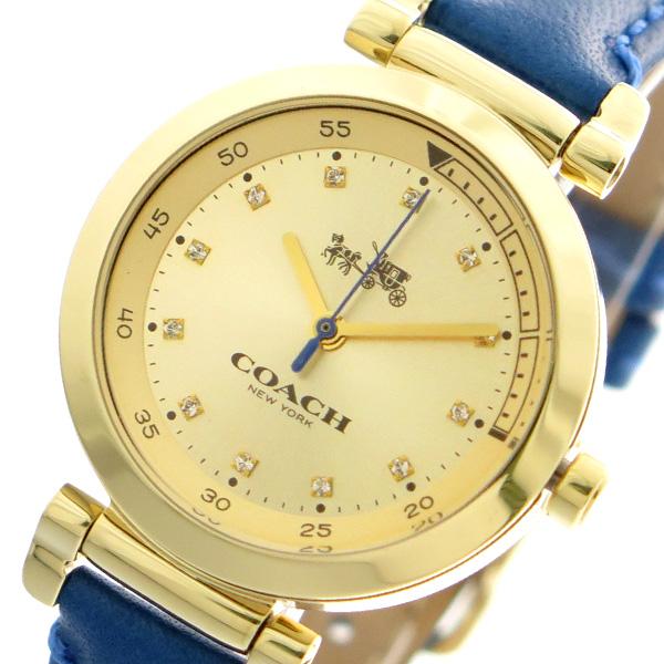 コーチ COACH 腕時計 時計 レディース 14502538 クォーツ ゴールド ブルー