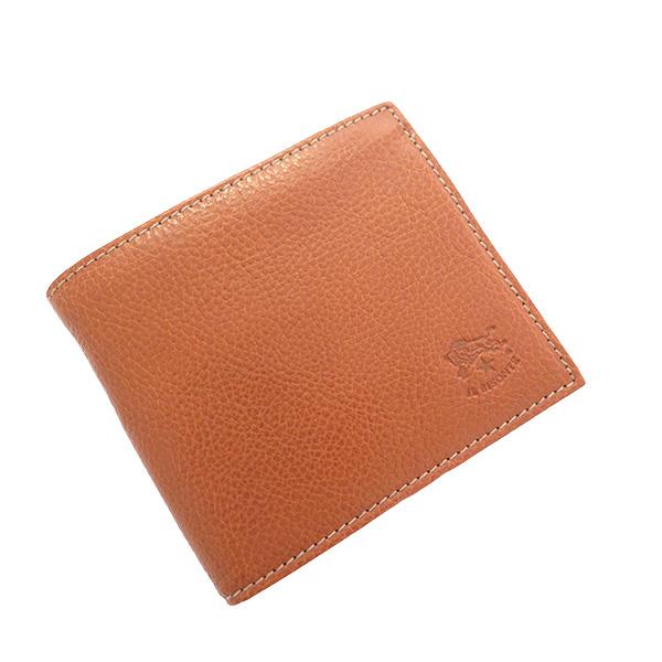 イルビゾンテ IL BISONTE 二つ折り財布 メンズ レディース C0487MP-214 コニャック