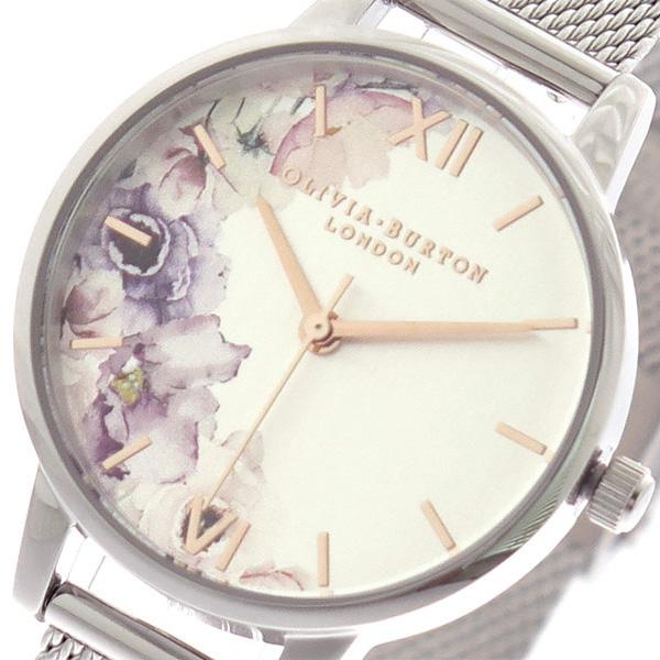 オリビアバートン OLIVIA BURTON 腕時計 時計 レディース OB16PP37 クォーツ シルバー