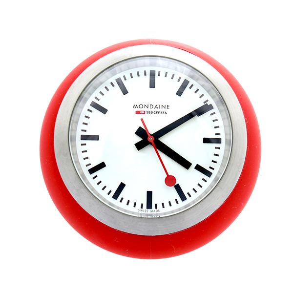 モンディーン MONDAINE 置き時計 A660.30335.16SBC レッド
