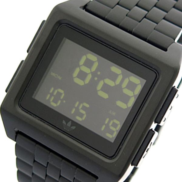 アディダス ADIDAS 腕時計 時計 メンズ レディース Z01-001 アーカイブ-M1 ARCHIVE-M1 CJ6306 クォーツ ブラック