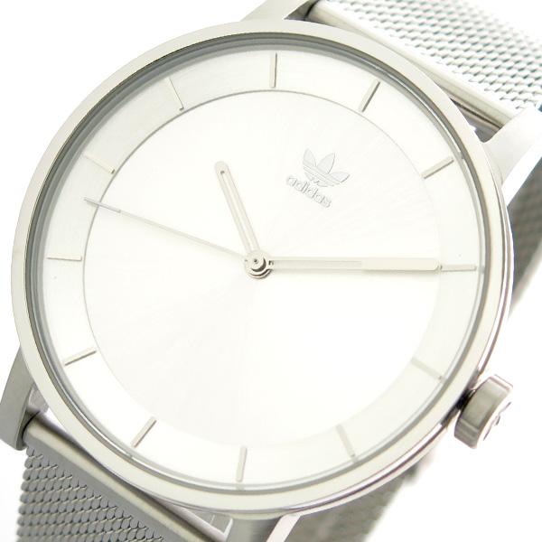 アディダス ADIDAS 腕時計 時計 メンズ レディース Z04-1920 ディストリクト-M1 DISTRICT-M1 CJ6321 クォーツ シルバー