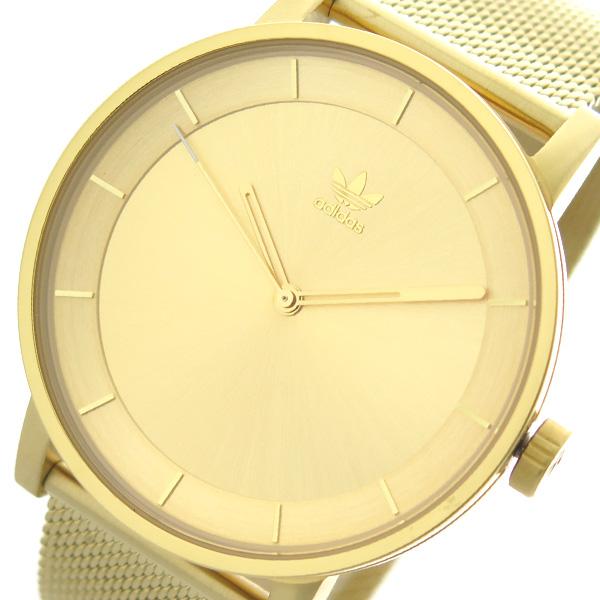 アディダス ADIDAS 腕時計 時計 メンズ レディース Z04-502 ディストリクト-M1 DISTRICT-M1 CJ6323 クォーツ ゴールド