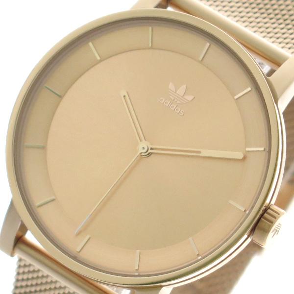 アディダス ADIDAS 腕時計 時計 メンズ レディース Z04-897 ディストリクト-M1 DISTRICT-M1 CJ6324 クォーツ ピンクゴールド