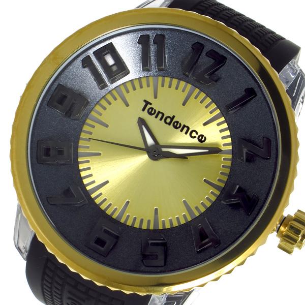 テンデンス フラッシュ FLASH クオーツ メンズ 腕時計 TG530006 ブラック 国内正規 ブラック【送料無料】