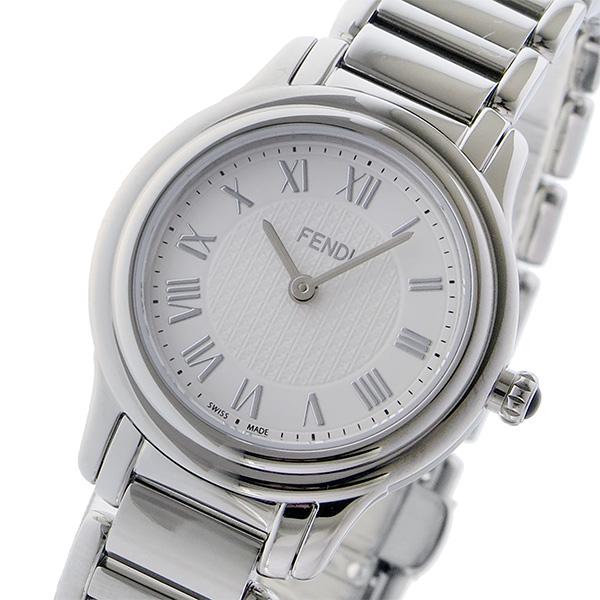 フェンディ FENDI クラシコ ラウンド CLASSICO クオーツ レディース 腕時計 F251024000 ホワイト ホワイト【送料無料】