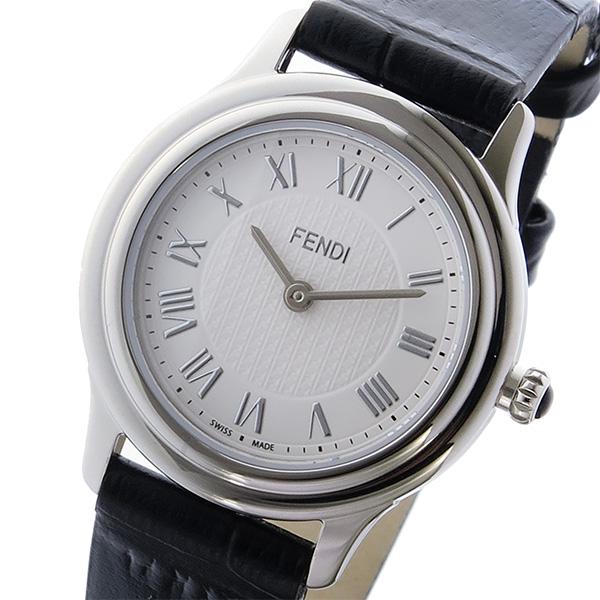 フェンディ FENDI クラシコ ラウンド CLASSICO クオーツ レディース 腕時計 F250024011 ホワイト ホワイト【送料無料】