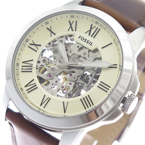 フォッシル FOSSIL 腕時計 メンズ ME3099 アイボリー ブラウン アイボリー【送料無料】
