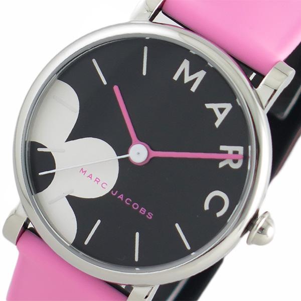 マークジェイコブス MARC JACOBS 腕時計 レディース MJ1622 クォーツ ブラック ピンク ブラック