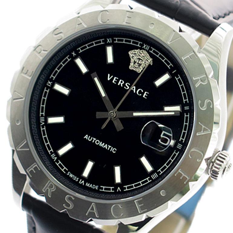 ヴェルサーチ VERSACE 腕時計 メンズ VZI010017 クォーツ ブラック ブラック【送料無料】