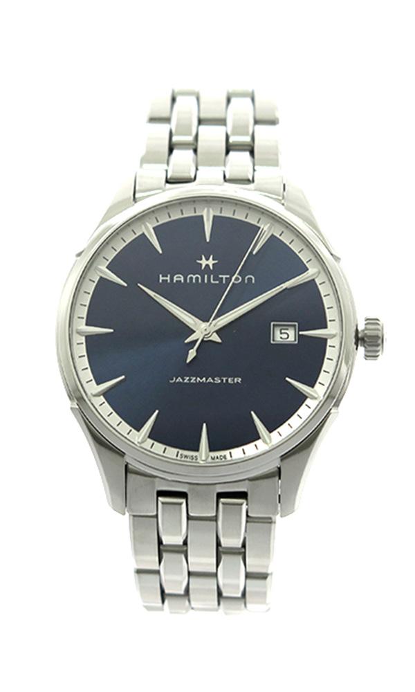 ハミルトン HAMILTON 腕時計 メンズ H32451141 クォーツ ネイビー シルバー ネイビー