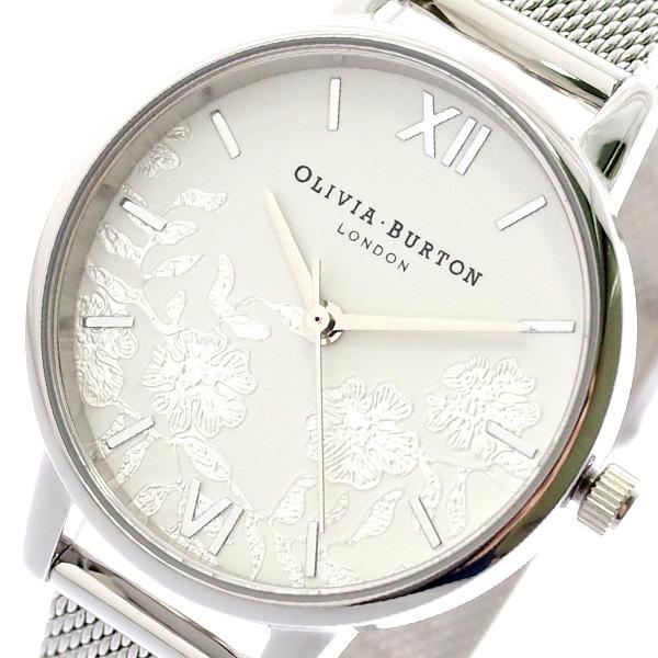 オリビアバートン OLIVIA BURTON 腕時計 レディース OB16MV54 クォーツ ホワイト ホワイト【送料無料】
