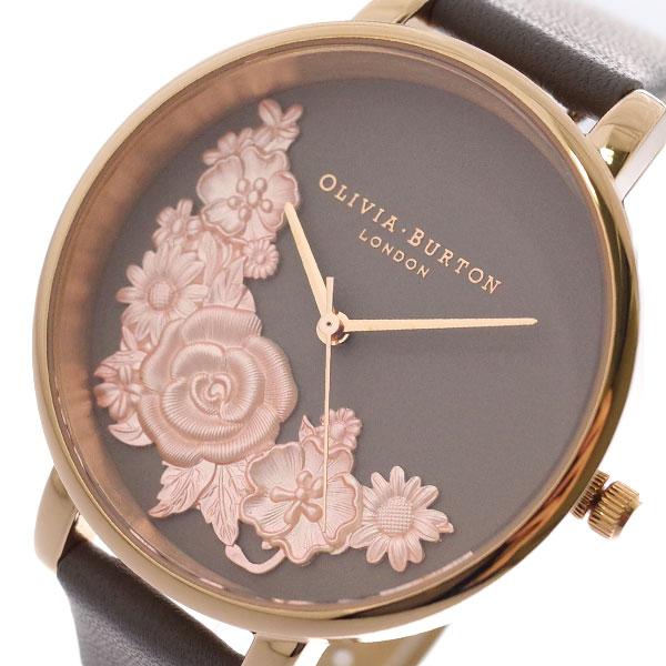 オリビアバートン OLIVIA BURTON 腕時計 レディース OB16FS99 クォーツ ブラウン グレーブラウン ブラウン【送料無料】