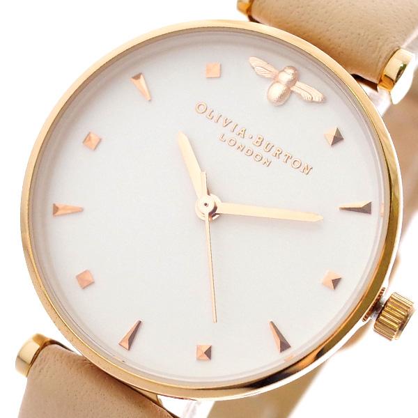 オリビアバートン OLIVIA BURTON 腕時計 レディース OB16AM95 クォーツ ホワイト ピンク ホワイト【送料無料】