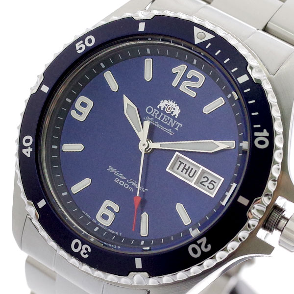 オリエント ORIENT 腕時計 メンズ SAA02002D3 自動巻き ネイビー シルバー ネイビー【送料無料】