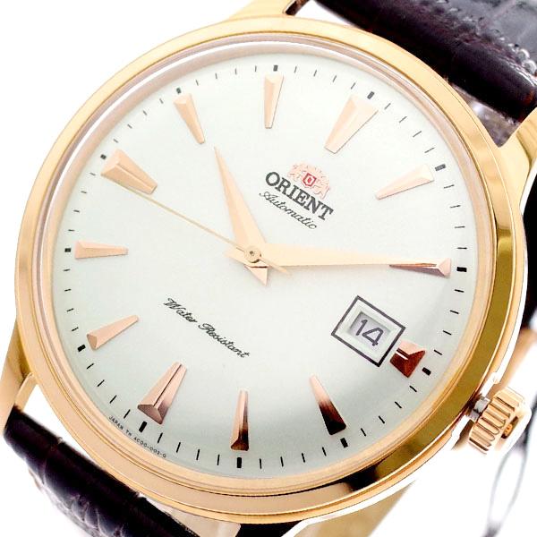 オリエント ORIENT 腕時計 メンズ SAC00002W0 自動巻き ホワイト ダークブラウン ホワイト【送料無料】