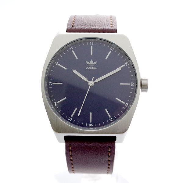 アディダス ADIDAS 腕時計 メンズ レディース Z05-2920 プロセス-L1 PROCESS-L1 CJ6345 クォーツ ネイビー ダークブラウン ネイビー