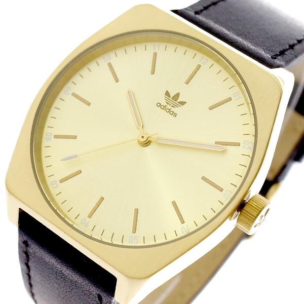 アディダス ADIDAS 腕時計 メンズ レディース Z05-510 プロセス-L1 PROCESS-L1 CJ6348 クォーツ ゴールド ブラック ゴールド【送料無料】
