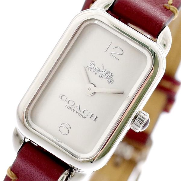 コーチ COACH 腕時計 レディース 14502777 クォーツ シルバー ブラウン ブラウン【送料無料】