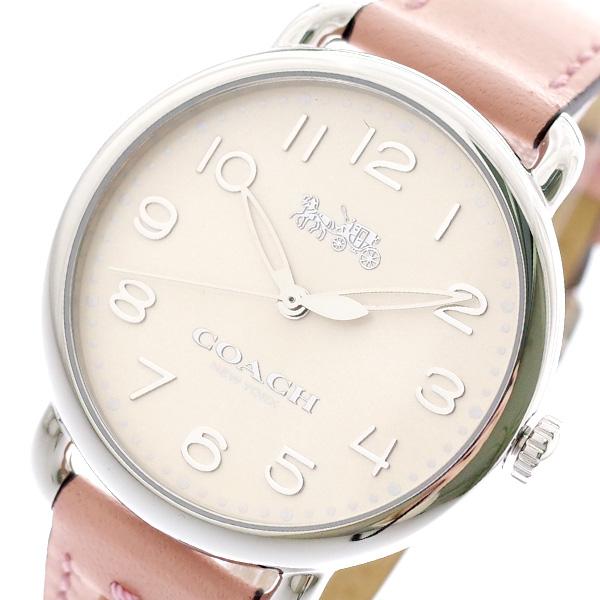 コーチ COACH 腕時計 レディース 14502808 クォーツ パールホワイト ピンク ピンク【送料無料】