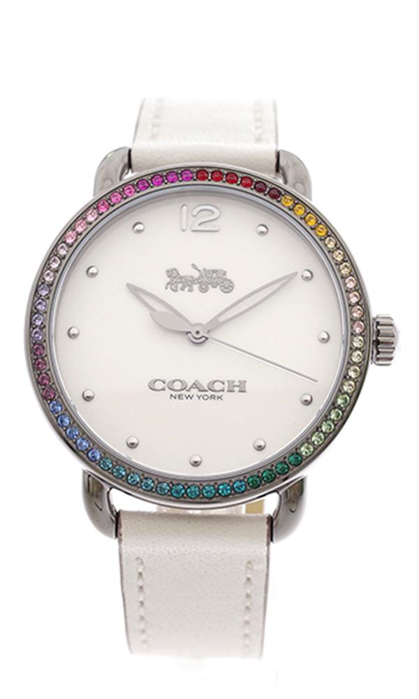 コーチ COACH 腕時計 レディース 14502888 クォーツ オフホワイト マルチカラー