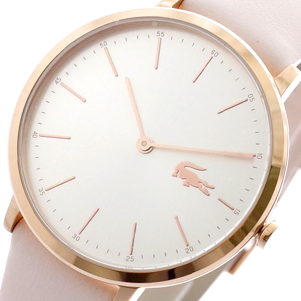 ラコステ LACOSTE 腕時計 メンズ レディース 2000948 クォーツ シルバー ピンク ピンク【送料無料】