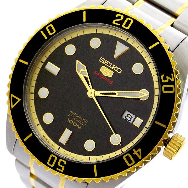 セイコー SEIKO 腕時計 メンズ SRPB94J1 セイコー5 SEIKO5 スポーツ SPORTS 自動巻き ブラック シルバー ブラック【送料無料】