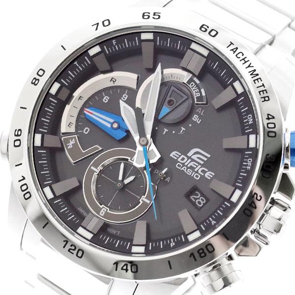 カシオ CASIO 腕時計 メンズ EQB-800D-1A エディフィス EDIFICE クォーツ グレー シルバー グレー【送料無料】