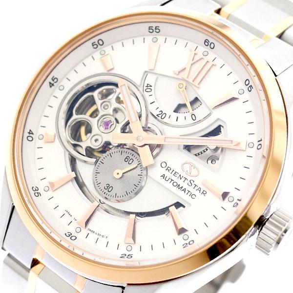 f49d01df8512 オリエントスター ORIENT STAR 腕時計 メンズ SDK05001W0 自動巻き ホワイト シルバー ホワイト