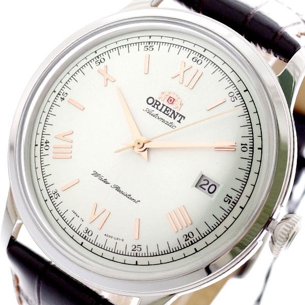 オリエント ORIENT 腕時計 メンズ SAC00008W0 バンビーノ BAMBINO 自動巻き パールホワイト ダークブラウン パールホワイト【送料無料】