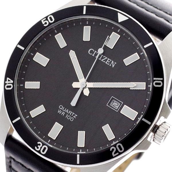 シチズン CITIZEN 腕時計 メンズ BI5050-03E クォーツ ブラック ブラック【送料無料】