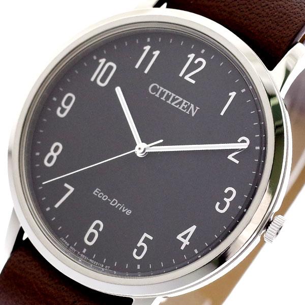 シチズン CITIZEN 腕時計 メンズ BJ6501-01E クォーツ ブラック ダークブラウン ブラック【送料無料】