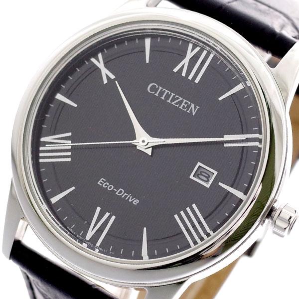 シチズン CITIZEN 腕時計 メンズ AW1231-07E クォーツ ブラック ブラック【送料無料】