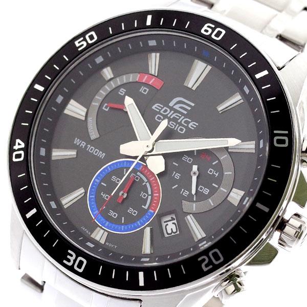 カシオ CASIO 腕時計 メンズ EFR-552D-1A3V エディフィス EDIFICE クォーツ ブラック シルバー ブラック【送料無料】