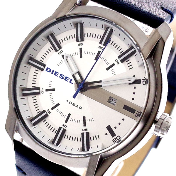ディーゼル DIESEL 腕時計 メンズ DZ1866 クォーツ シルバー ネイビー【送料無料】