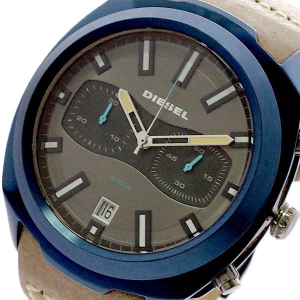 ディーゼル DIESEL 腕時計 メンズ DZ4490 クォーツ グレー ブラウン グレー【送料無料】