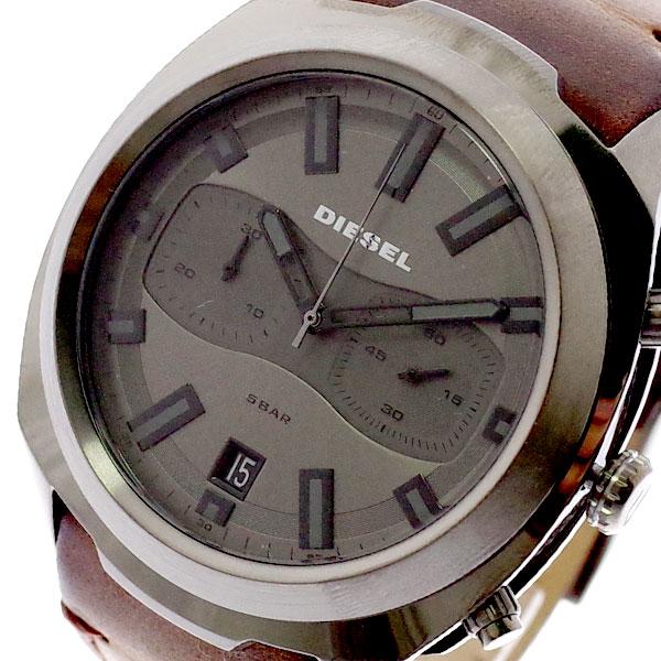 ディーゼル DIESEL 腕時計 メンズ DZ4491 クォーツ ダークグレー ダークブラウン ダークグレー【送料無料】