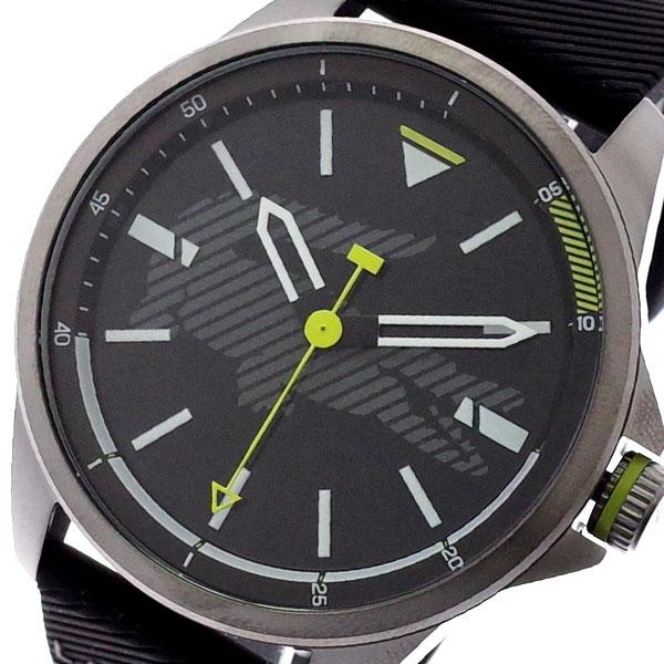 ラコステ LACOSTE 腕時計 メンズ 2010941 CAPBRETON クォーツ ブラック ブラック【送料無料】