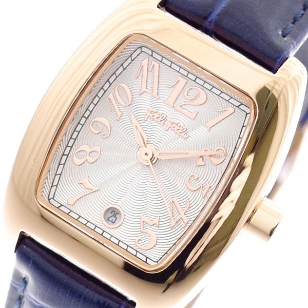 フォリフォリ FOLLI FOLLIE 腕時計 レディース WF5R080SDS-DB S922 クォーツ ホワイト ネイビー ネイビー