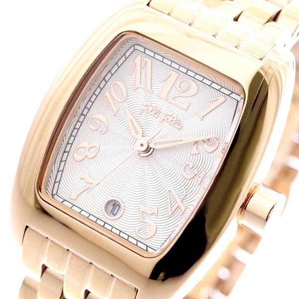 フォリフォリ FOLLI FOLLIE 腕時計 レディース WF5R080BDS-XX S922 クォーツ ホワイト ピンクゴールド ピンクゴールド【送料無料】