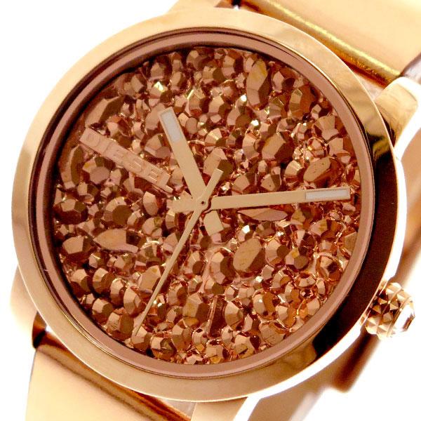 ディーゼル DIESEL 腕時計 レディース DZ5583 フレアロック FLARE ROCKS クォーツ ピンクゴールド ピンクゴールド【送料無料】