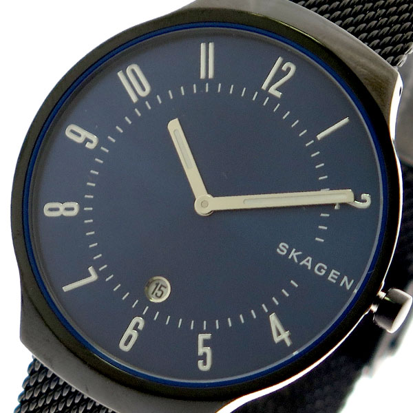 スカーゲン SKAGEN 腕時計 メンズ レディース SKW6461 クォーツ ネイビー ブラック ネイビー【送料無料】