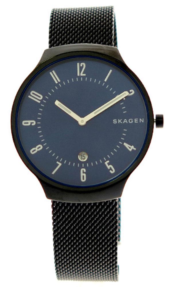 スカーゲン SKAGEN 腕時計 メンズ レディース SKW6461 クォーツ ネイビー ブラック ネイビー