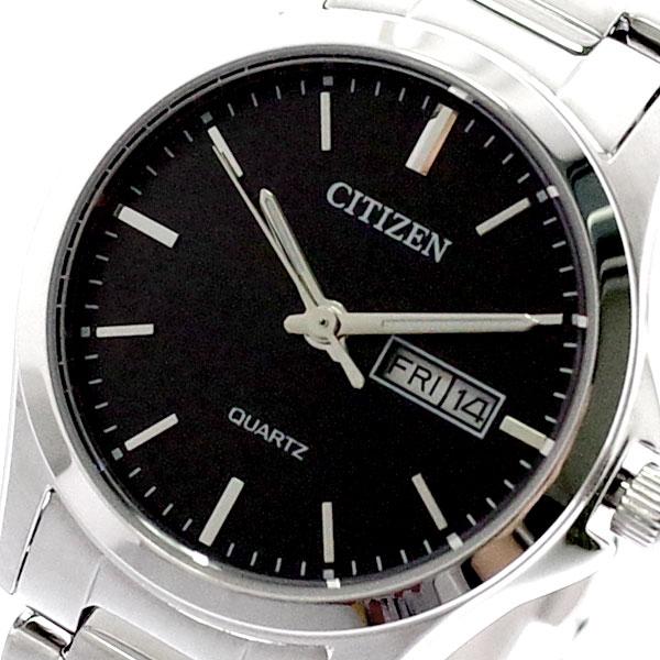 シチズン CITIZEN 腕時計 レディース EQ0591-81E クォーツ ブラック シルバー ブラック
