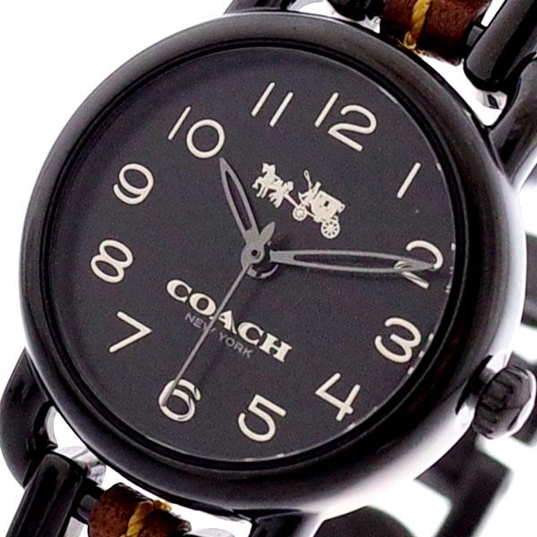 コーチ COACH 腕時計 レディース 14502724 デランシー クォーツ ブラック ブラック【送料無料】