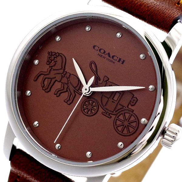 コーチ COACH 腕時計 レディース 14502978 グランド クォーツ ブラウン ブラウン【送料無料】