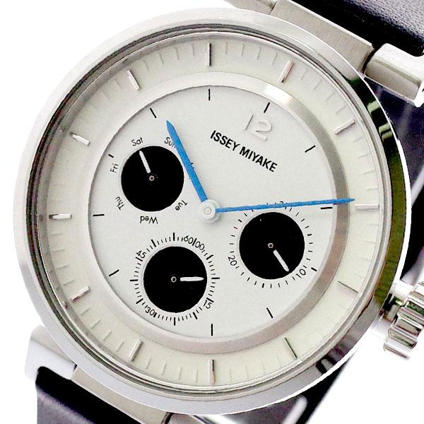 イッセイミヤケ ISSEY MIYAKE 腕時計 メンズ レディース SILAAB02 W-Mini ダブリュ ミニ 和田智 Satoshi Wada クォーツ ホワイト ブラック ホワイト【送料無料】