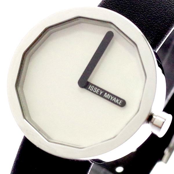 イッセイミヤケ ISSEY MIYAKE 腕時計 レディース SILAP004 トゥエルブ TWELVE 深澤直人デザインモデル クォーツ ホワイト ブラック ホワイト【送料無料】